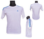 (A08)- ADIDAS AESS 3S CREW  TEE - R. XS