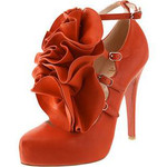 Christian Louboutin Dillian Orange Shoes - R.40